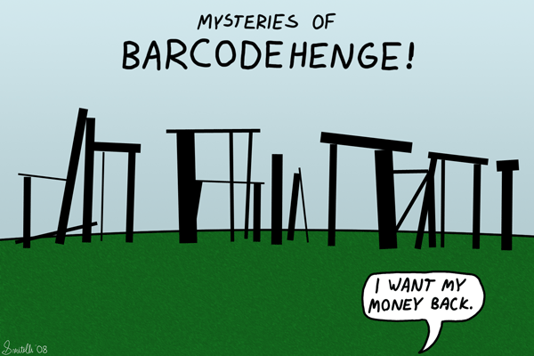 Barcodehenge