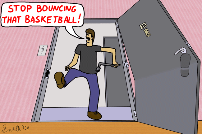Bouncing That Basketball