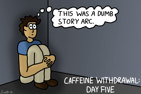 Caffeine Withdrawal: Day 5