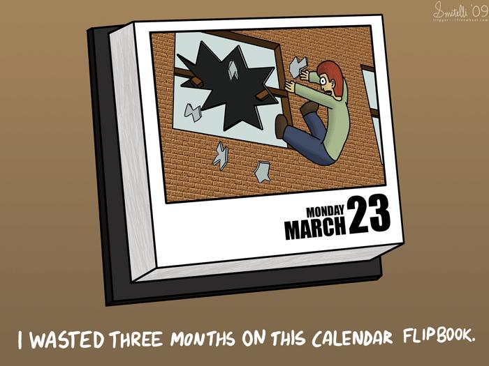 Calendar Flipbook