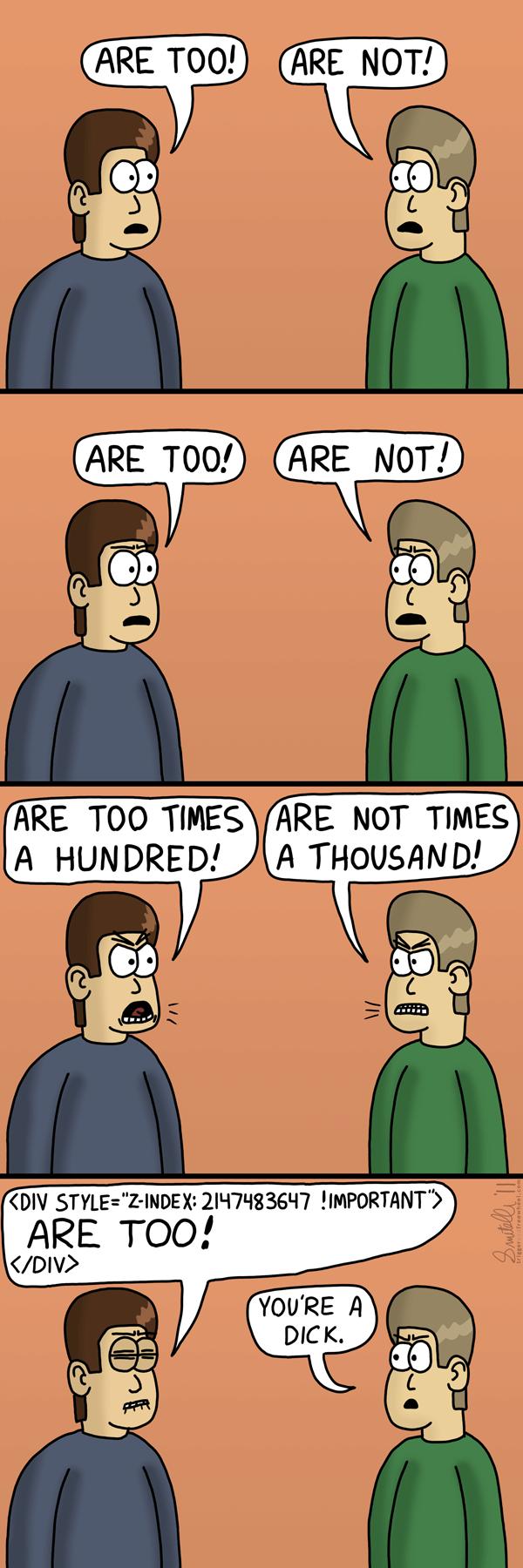 Childish Argument