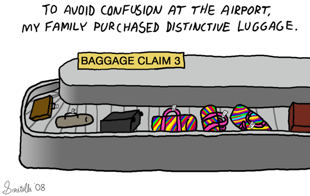 Distinctive Luggage