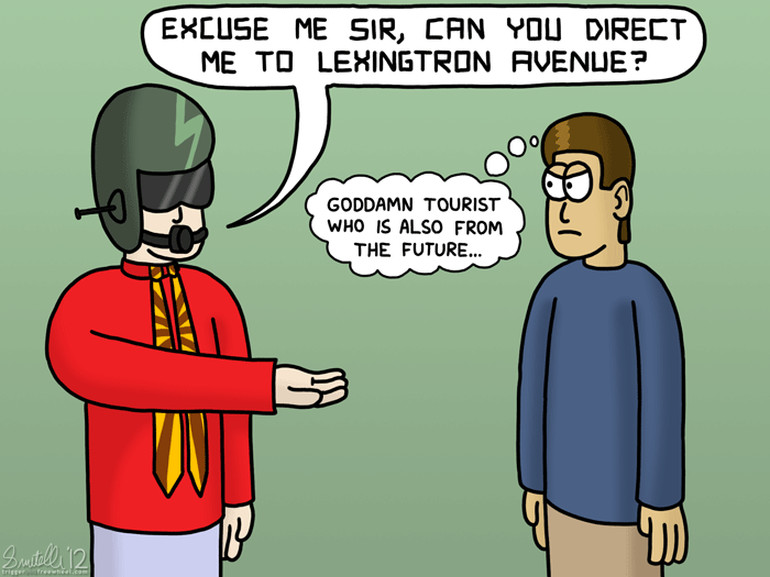Goddamn Tourist