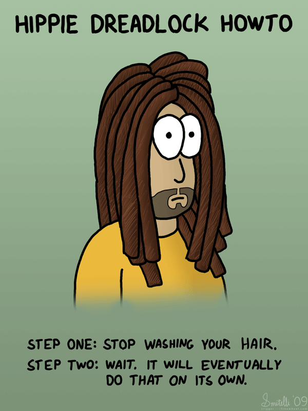 Hippie Dreadlock Howto