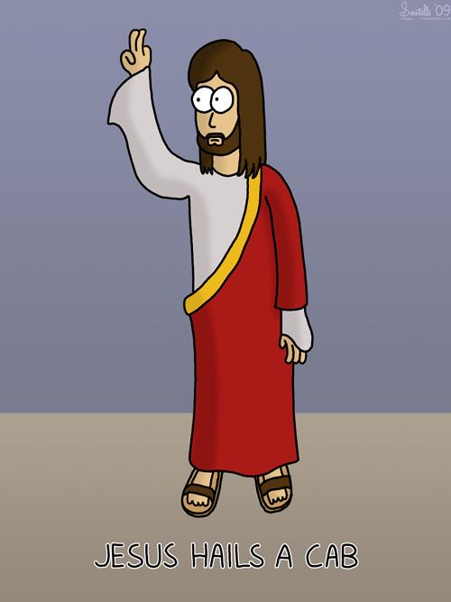 Jesus Hails a Cab