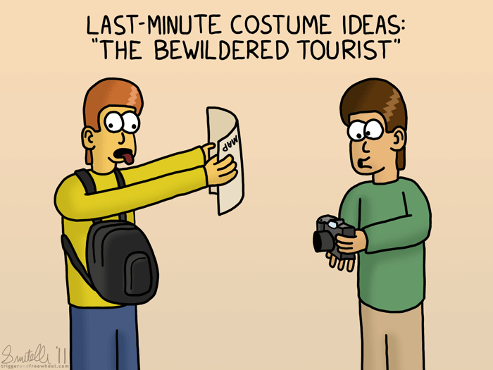 Last-Minute Costume Ideas