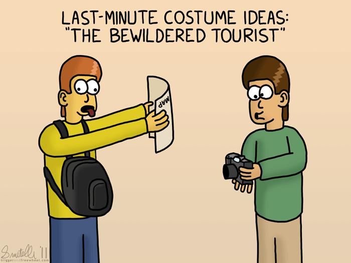 Last-Minute Costume Ideas