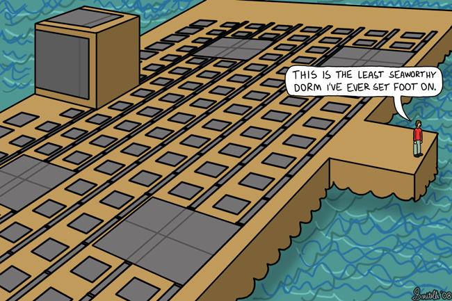 Least Seaworthy Dorm