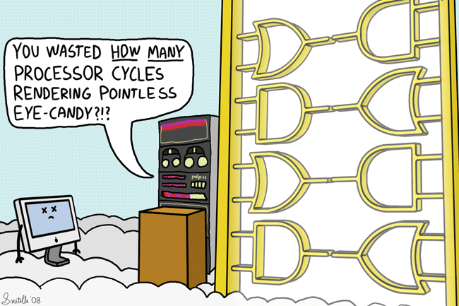 Logic Gates Of Heaven