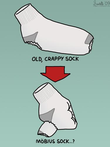 Möbius Sock