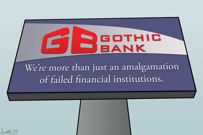Modern Bank Ads