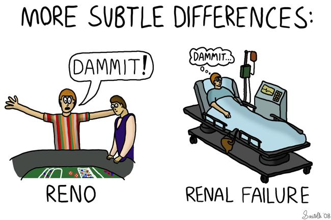 More Subtle Differences