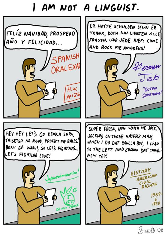 Not A Linguist