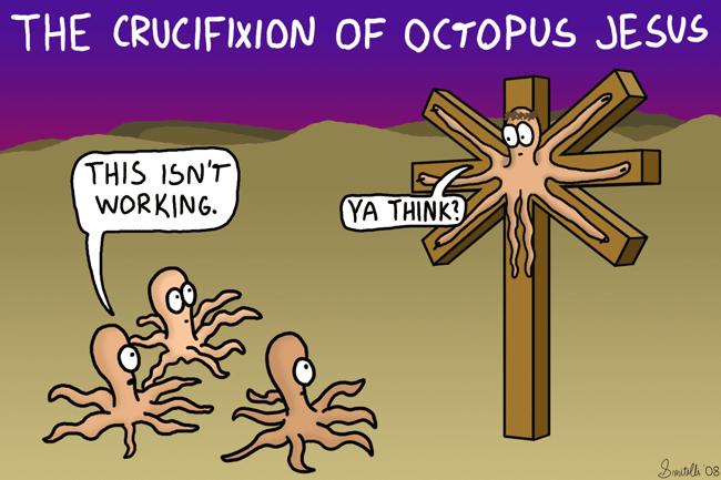 Octopus Jesus