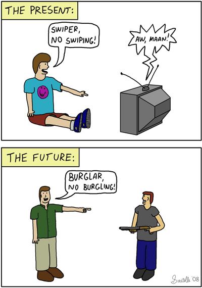 Stumbling Into The Future