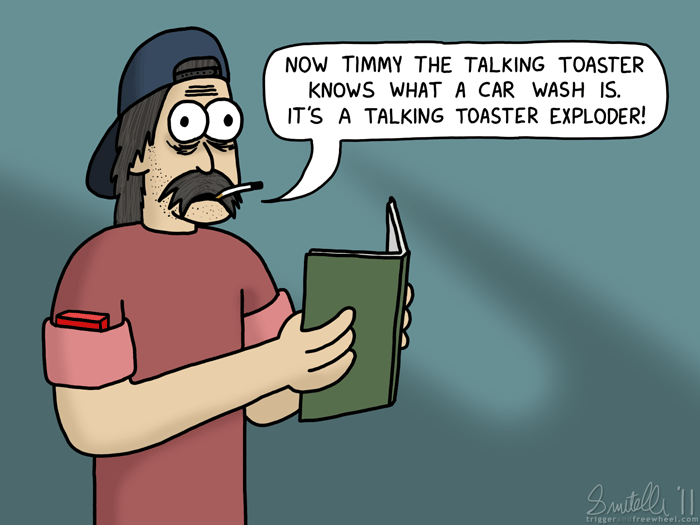 Timmy The Talking Toaster