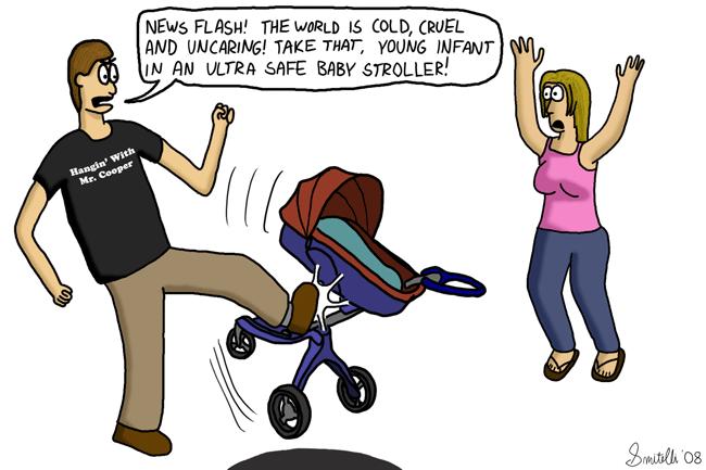 Ultra Safe Baby Stroller
